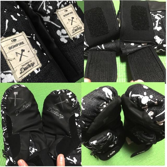 SALOMON(サロモン)のミトン手袋 スポーツ/アウトドアのスノーボード(アクセサリー)の商品写真