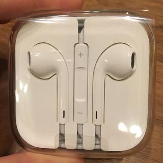 アップル(Apple)のApple純正 イヤフォン(ヘッドフォン/イヤフォン)