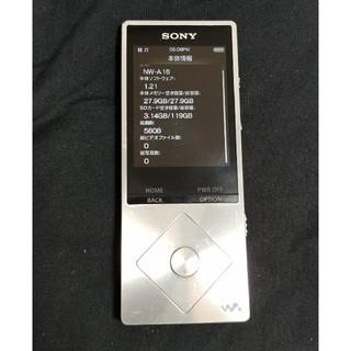 ソニー(SONY)のウォークマン NW-A16 32GB(ポータブルプレーヤー)