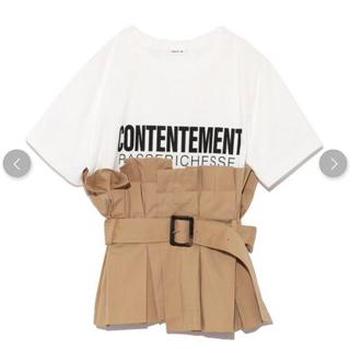 ビスチェベルトTシャツ