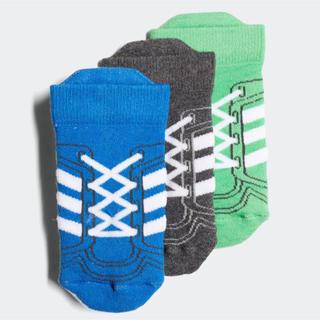 アディダス(adidas)の新品 未開封 Baby 3Pソックス /靴下 adidas(靴下/タイツ)