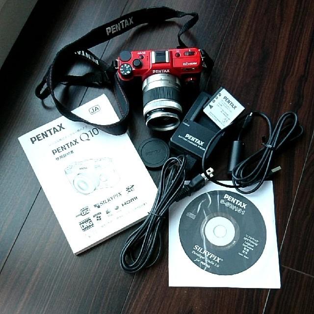 PENTAX(ペンタックス)のPENTAX デジタルミラーレス一眼 Q10 スマホ/家電/カメラのカメラ(ミラーレス一眼)の商品写真