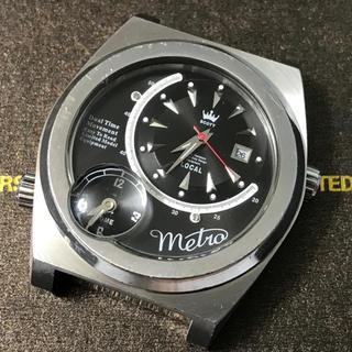 スコット(SCOTT)のMetro SCOTT デュアルタイム腕時計(腕時計(アナログ))