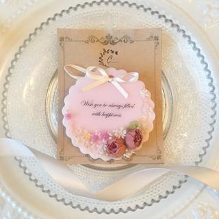mini plate rose ※アロマワックスサシェ (アロマ/キャンドル)