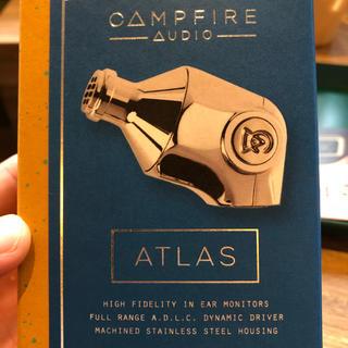 アイリバー(iriver)のca atlas (純正ケーブルはつきませんが定価5万円のケーブル付き)(ヘッドフォン/イヤフォン)