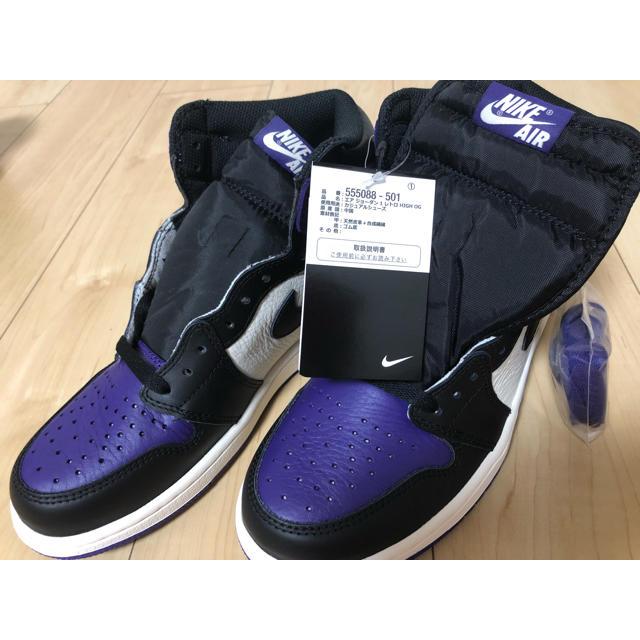 NIKE(ナイキ)のAIR JORDAN 1 RETRO HIGH OG メンズの靴/シューズ(スニーカー)の商品写真