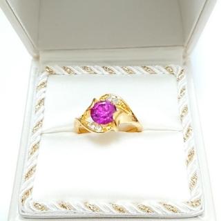 新品未使用 美品 リング 指輪 オシャレなデザイン 女性用 サイズ21号 2(リング(指輪))