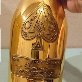 ドンペリニヨン(Dom Pérignon)のアルマンドゴールドの袋付き空瓶!(シャンパン/スパークリングワイン)