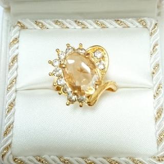 新品未使用 美品 リング 指輪 オシャレなデザイン 女性用 サイズ21号 3(リング(指輪))