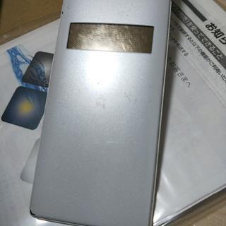 WX12K ホワイト/ゴールド 箱説明書あり(PHS本体)