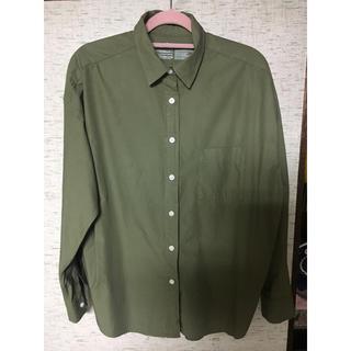 ムジルシリョウヒン(MUJI (無印良品))の無印良品♡ビッグシルエットシャツ(シャツ/ブラウス(長袖/七分))
