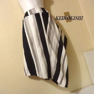 ノッシ(NOSH)のKEIKO KISHIケイコキシ♡アシンメトリーストライプスカート(その他)