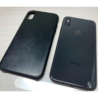 アップル(Apple)のiPhone X 256gb sim フリー(スマートフォン本体)