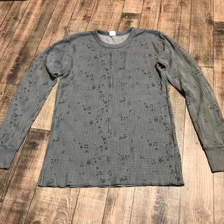 ヘインズ(Hanes)のヘインズ  ワッフル  ロンT   メンズ(Tシャツ/カットソー(七分/長袖))