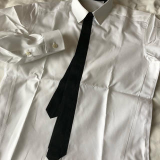 クリスヴァンアッシュ(KRIS VAN ASSCHE)のクリス ヴァン アッシュ  Kris van Assch ネクタイプリントシャツ(シャツ)