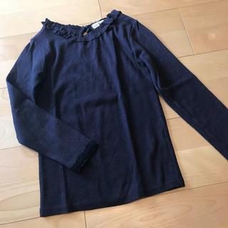 アンバー(Amber)の☆Amber キッズ 長袖 カットソー 韓国子供服 120 130(Tシャツ/カットソー)