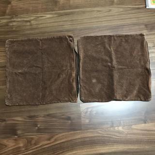 ムジルシリョウヒン(MUJI (無印良品))の無印良品 クッションカバー 2枚セット(クッションカバー)