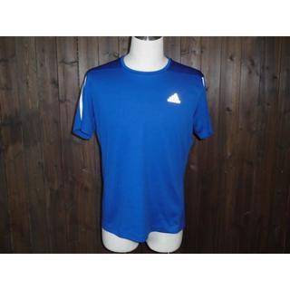 アディダス(adidas)の995 新品 adidas running Tシャツ アディダスランニング 青(Tシャツ/カットソー(半袖/袖なし))