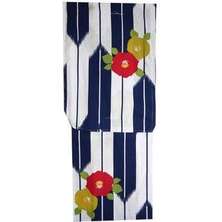 女性用仕立て上がりプレタ浴衣衿芯付き(適応サイズ152cm~165cm)a5(浴衣)