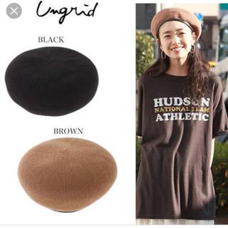 アングリッド(Ungrid)のパイピングベレー帽(ハンチング/ベレー帽)