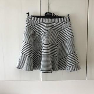 デレクラム(DEREK LAM)の美品 DEREK LAM 10CROSBY フレアスカート (ひざ丈スカート)
