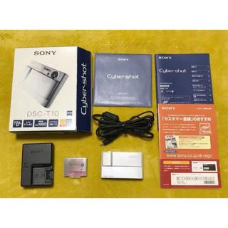 ソニー(SONY)のSONY Cyber-shot DSC-T10 サイバーショット(コンパクトデジタルカメラ)