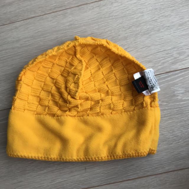 Mammut(マムート)のMAMMUT ニット帽 黄色   スポーツ/アウトドアのアウトドア(登山用品)の商品写真