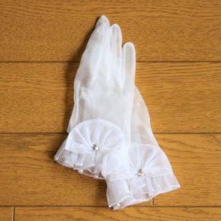 テンマヤ(天満屋)の結婚式に★手袋・グローブ(ジュエリー付)★天満屋(百貨店)(手袋)