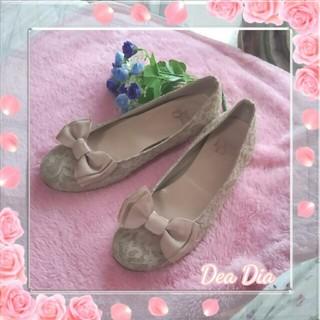 デアディア(DeaDia)の◻ DeaDia  レース☆リボン パンプス ◻(ハイヒール/パンプス)