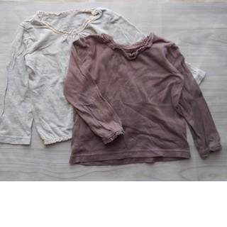グローバルワーク(GLOBAL WORK)のGLOBAL WORK 長袖Tシャツ 2枚セット(Tシャツ/カットソー)