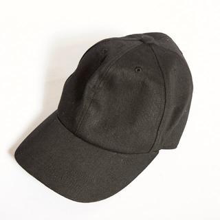 カシラ(CA4LA)のca4la カシラ キャップ 帽子 黒 ブラック(キャップ)