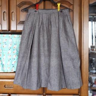 マーブルインク(marble ink)の売り切り✨マーブルインク★ウール混フレアスカート2(ひざ丈スカート)