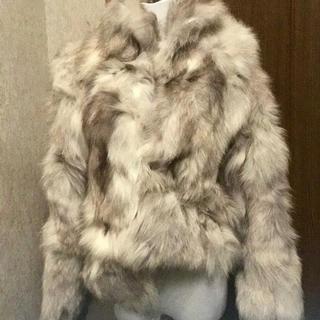 毛皮  ブルーフォックス  ショートコート(毛皮/ファーコート)