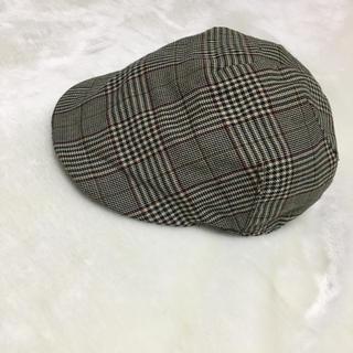 ニューヨークハット(NEW YORK HAT)のハンチング ニューヨークハット  チェック レディース メンズ 帽子 カシラ(ハンチング/ベレー帽)