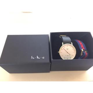 アーバンリサーチ(URBAN RESEARCH)のh.k.c腕時計 箱付き アーバンリサーチ 2way(腕時計)