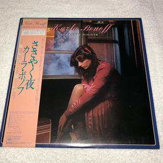 カーラ・ボノフ(ささやく夜)LPレコード(レコード針)