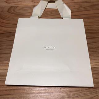 shiro ショップ袋