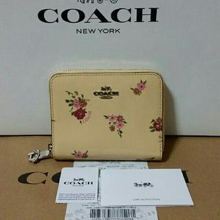 コーチ(COACH)の2018新作 COACH 折り財布 新品 花柄 レディース(財布)