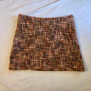 ハンアンスン(HAN AHN SOON)のハンアンスン ツィード スカート (ミニスカート)