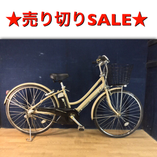 ヤマハ - ☆電動自転車☆YAMAHA PAS CITY F ☆26インチ☆サドル新品
