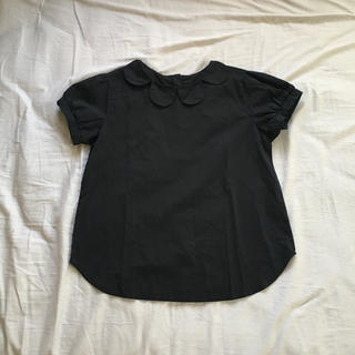 メルロー(merlot)のmerlot  丸襟ブラウス(シャツ/ブラウス(半袖/袖なし))