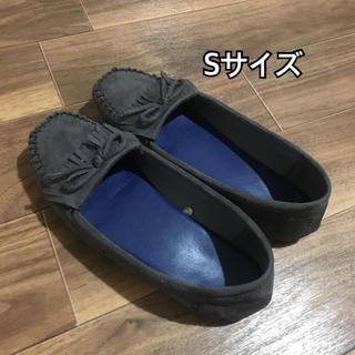 ジーユー(GU)のジーユー モカシン ネイビー Sサイズ(スリッポン/モカシン)