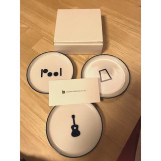 白山陶器 - 白山陶器  映画「プール」 豆皿3枚セット