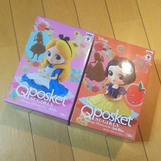 ディズニー(Disney)のQposket アリス 白雪姫 2体セット(その他)