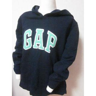 ギャップ(GAP)のGAP ギャップ パーカー プルオーバー スェット XL ビッグロゴ 起毛(パーカー)