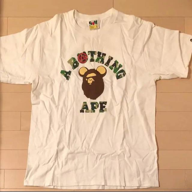 A BATHING APE(アベイシングエイプ)のAPE✕ベアブリックTシャツ② メンズのトップス(Tシャツ/カットソー(半袖/袖なし))の商品写真