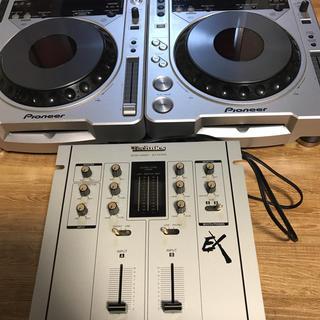 パイオニア(Pioneer)のDJ機器セット(DJコントローラー)