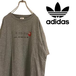 アディダス(adidas)のadidas アディダス フロント プリント だるま Tシャツ スポーツMIX(Tシャツ/カットソー(半袖/袖なし))