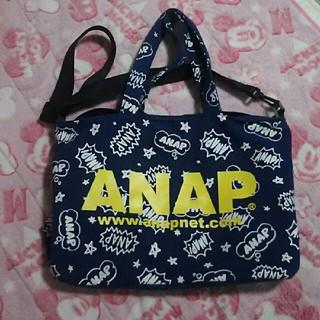 アナップ(ANAP)のANAP マザーズバッグ 紺色(マザーズバッグ)
