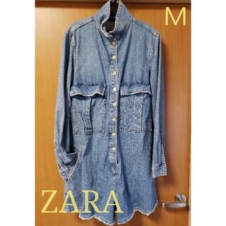 ザラ(ZARA)の未使用品【ZARA】オーバーサイズ サロペット Mサイズ(サロペット/オーバーオール)
